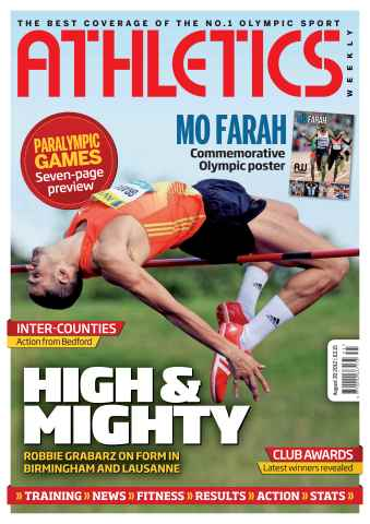 Athletics Weekly issue AW August 30 2012