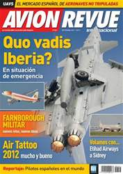 Avion Revue Internacional España issue Número 363