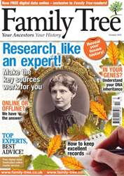 Family Tree issue October 2012