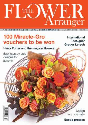 The Flower Arranger issue Autumn 2012
