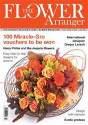 The Flower Arranger issue Autumn 2012