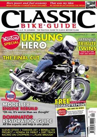 Classic Bike Guide issue September 2012