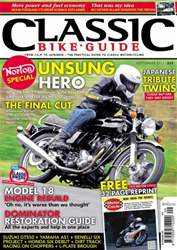 Classic Bike Guide issue September 2012