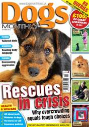 Dogs Monthly October 2012 issue Dogs Monthly October 2012