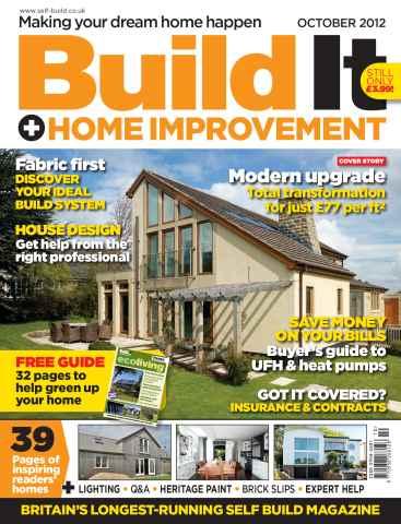 Build It issue Build It October 2012