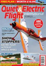 Quiet & Electric Flight Inter issue September 2012