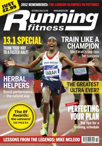 Running Fitness issue Your Fastest Half Oct 2012