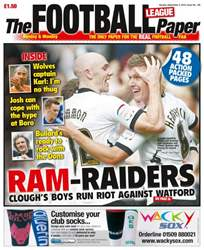 The Football League Paper issue 2nd September 2012