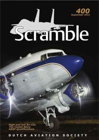 Scramble Magazine issue 400 - September 2012