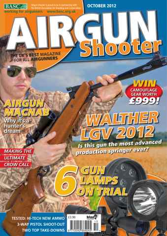 Airgun Shooter issue October 2012