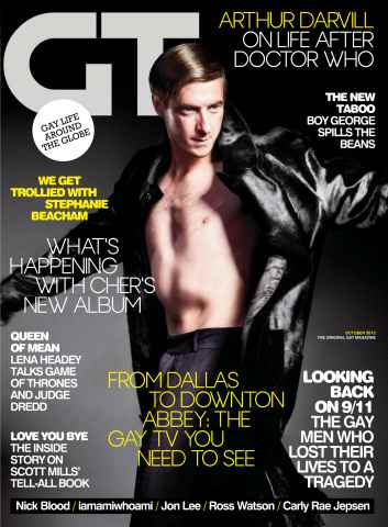 Gay Times issue October 12