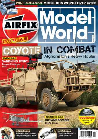 Airfix Model World issue October 2012