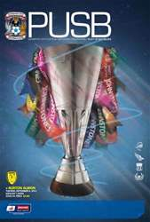 CCFC Official Programmes issue 04 v BURTON ALBION (12-13)
