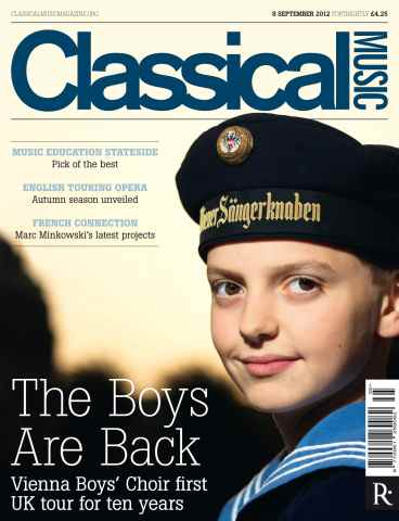 Classical Music issue Classical Music 8th September