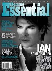 Essential Homme issue September-October 2012