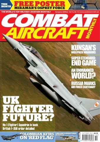 Combat Aircraft issue Vol 13 No 10
