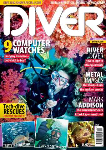 DIVER issue OCTOBER 2012