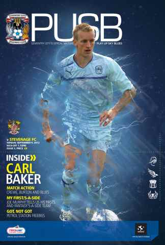CCFC Official Programmes issue 05 v STEVENAGE (12-13)
