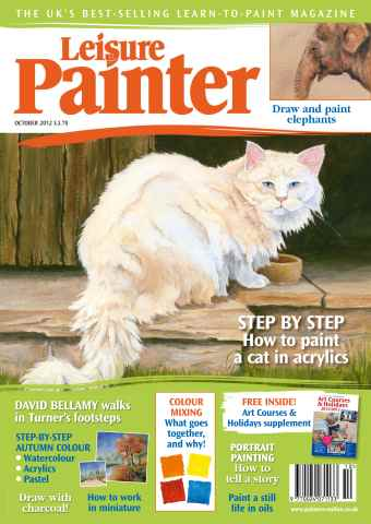 Leisure Painter issue October 2012