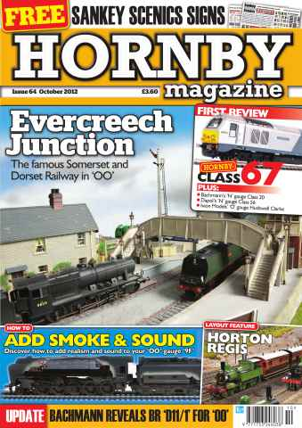 Hornby Magazine issue October 2012