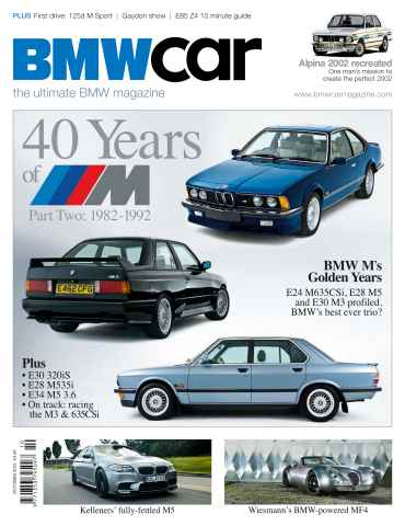 BMW Car issue October 2012