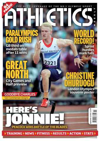 Athletics Weekly issue AW September 13 2012