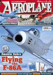 Aeroplane issue No.457 Flying the F-86A