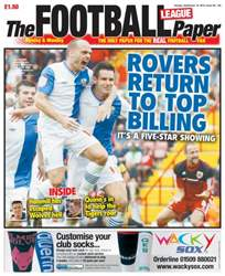 The Football League Paper issue 16th September 2012