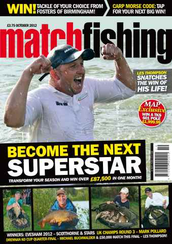 Match Fishing issue October 2012