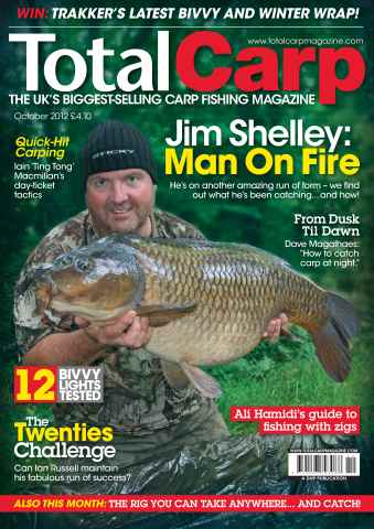 Total Carp issue October 2012