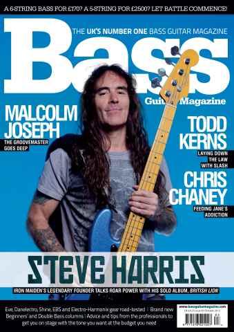 Bass Guitar issue 83 October 2012