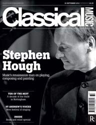 Classical Music issue classical music 22nd september
