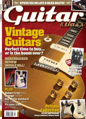 Guitar & Bass Magazine issue October 2012 Vintage Guitars