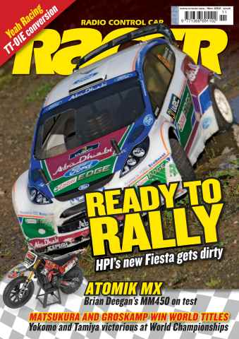 Radio Control Car Racer issue November 2012