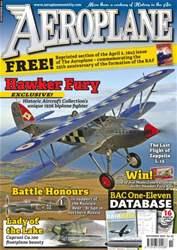 Aeroplane issue No.475 Hawker Fury