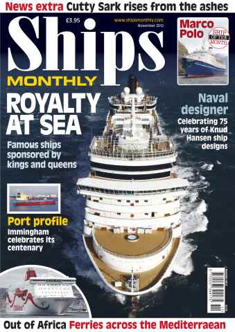 Ships Monthly issue Royalty at Sea November 12