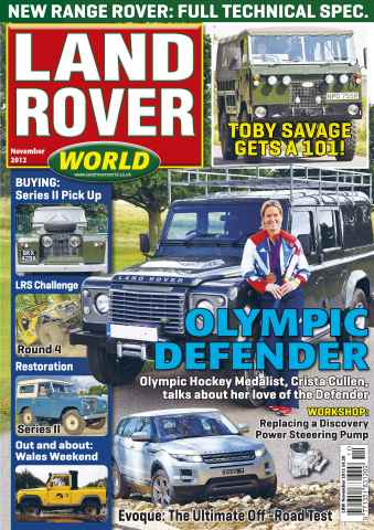 Landrover World issue Landrover World November 2012