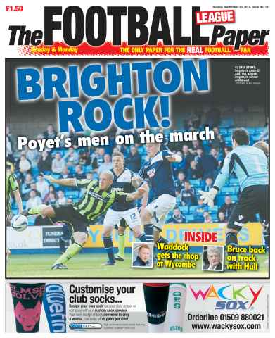 The Football League Paper issue 23rd September 2012