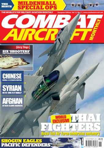 Combat Aircraft issue Vol 13 No 11
