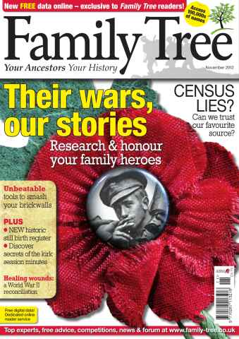 Family Tree issue November 2012
