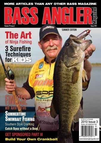 BASS ANGLER MAGAZINE issue Volume 19 Issue 3