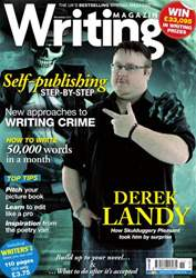 Writing Magazine issue Writing Magazine November 2012