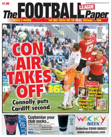 The Football League Paper issue 30th September 2012