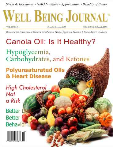 Well Being Journal issue November-December 2012