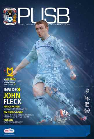CCFC Official Programmes issue 07 v MK DONS (12-13)