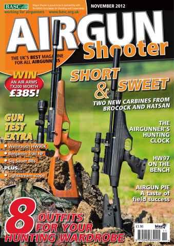Airgun Shooter issue November 2012