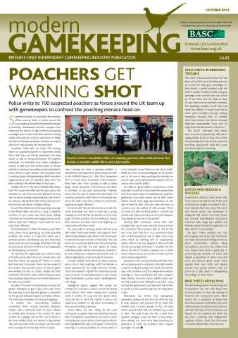 Modern Gamekeeping issue OCTOBER 2012