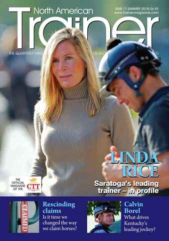 North American Trainer Magazine - horse racing issue 17