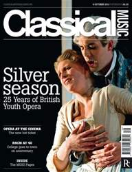 Classical Music issue Classical Music October 6th