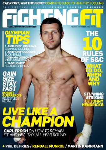 Fighting Fit issue November 2012